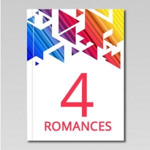 Romances - 4 livros Clube do Livro Espírita